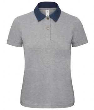 damskie polo B&C DNM Forward