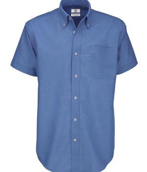 meska Koszula Oxford z krótkimi rękawami