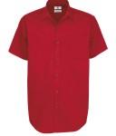 meska Koszula Sharp Twill z krótkimi rękawami