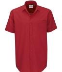 meska Koszula popelinowa Heritage z krótkimi rękawami