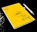 notes bez okładki